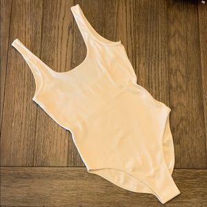 AA Cotton 2x2 Ribbed Tank Bodysuit